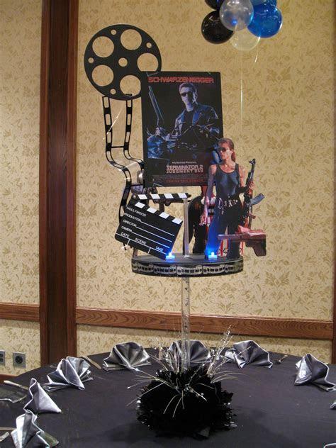 Movie Themed Centerpiece   Centerpieces   Pinterest   Best