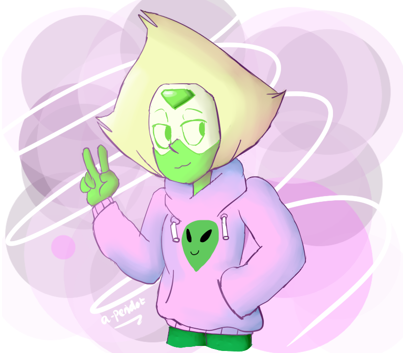 I love Peri in hoodies