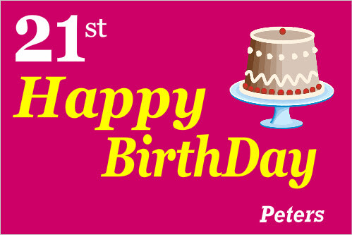 happy birthday banner ideas