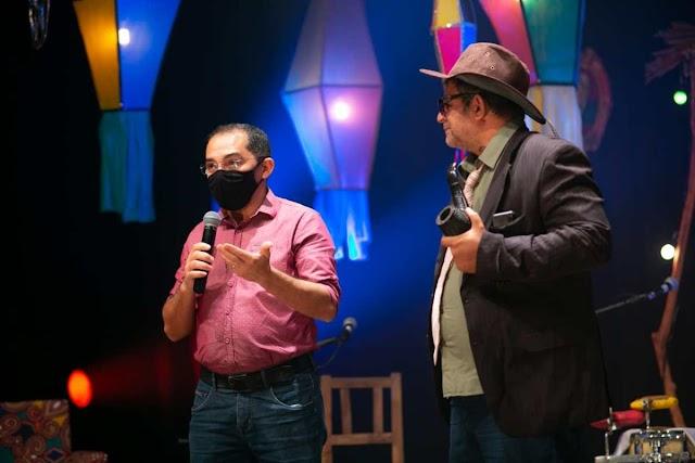 Ação solidária durante Juaforró arrecada donativos para artistas
