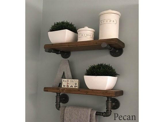 Get Inspired For Bathroom Floating Shelves pictures