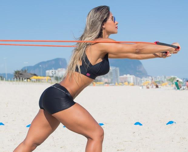Experimente você também os exercícios ao ar livre (Foto: André Furtado)