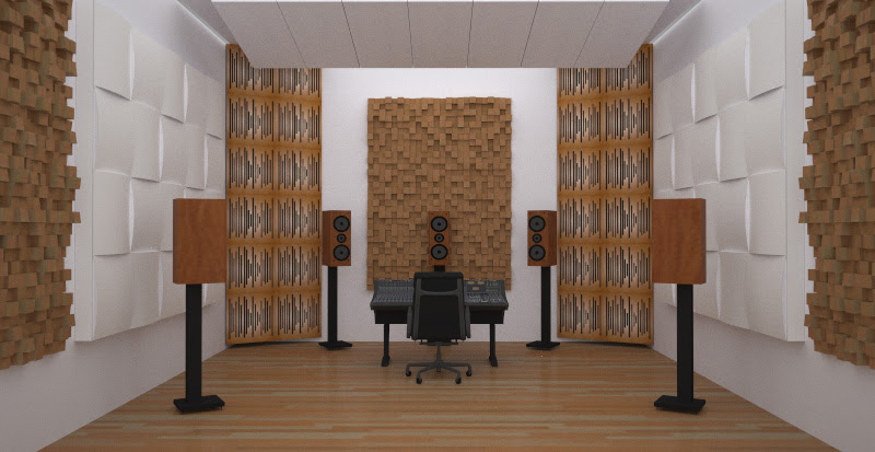 surround mixing listening room acoustic treatment 1