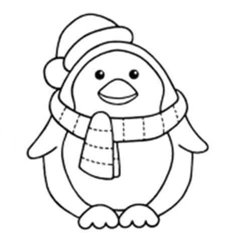 - Coloring And Drawing: Difficult Printable Winter Coloring Pages