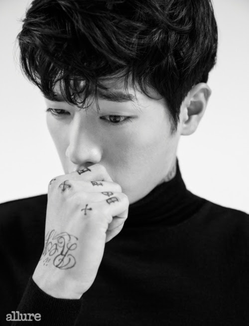 Seo Kang Joon   for   Allure Korea   September 2015. Photographed by Mok Jung Wook