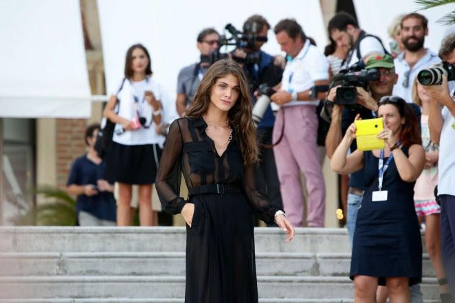 Elisa Sednaoui: 72nd Venice Film Festival Jury Photocall -19