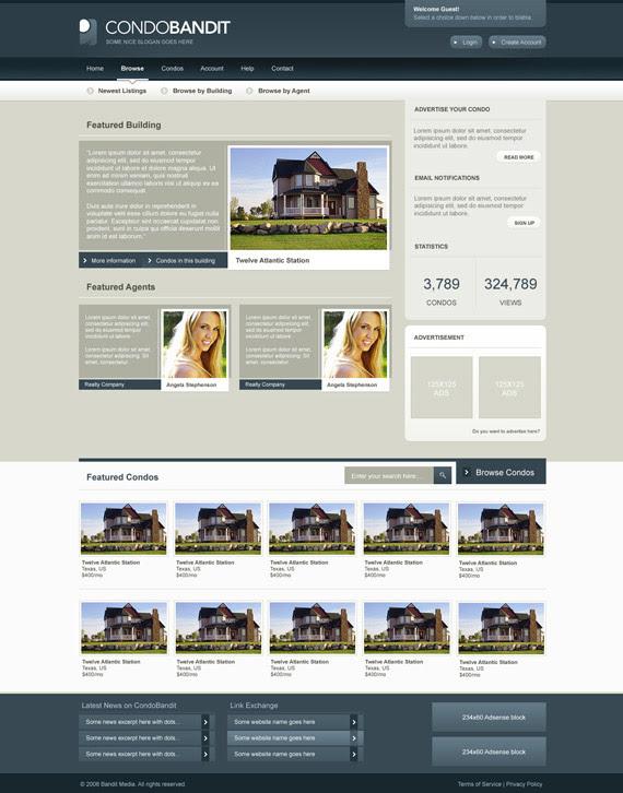 Condobandit-theme-inspiration-wordpress-blog-designs