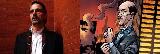 Jeremy Irons será Alfred en 'Batman v Superman: Dawn of Justice'