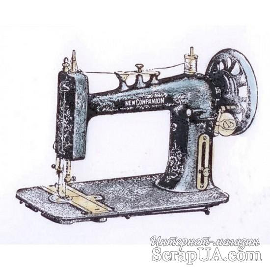 Акриловый штамп La Blanche - Sewing Machine - ScrapUA.com