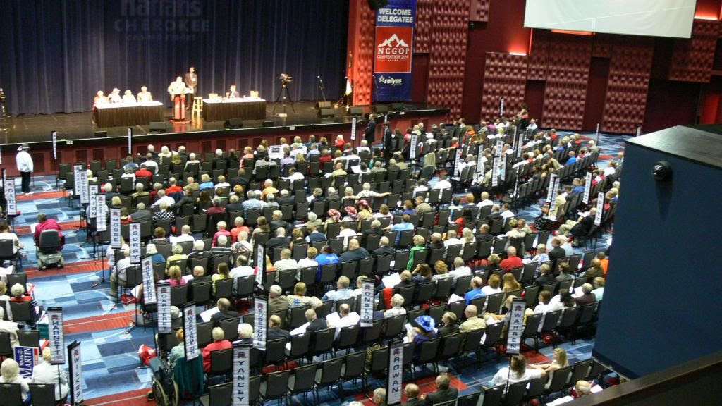 Delegates at the 2014 NCGOP State Convention