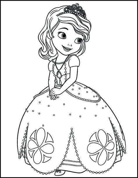princess sofia coloring book    princess coloring