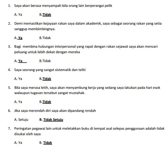 Contoh Soalan Peperiksaan Online Pembantu Tadbir N17 • 92