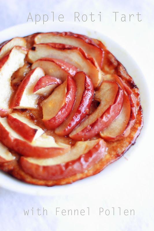 Fennel Pollen Apple Roti Tart