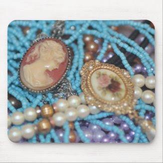 I love Jewelry mousepad