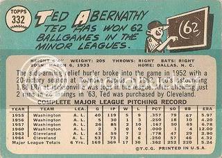 #332 Ted Abernathy (back)