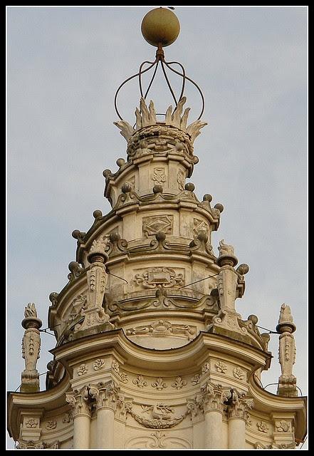Borrominis Lantern, Sant Ivo Alla, Sapienza, Rome, Italy
