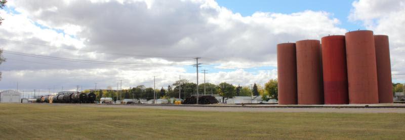 BNSF yard in Winnipeg