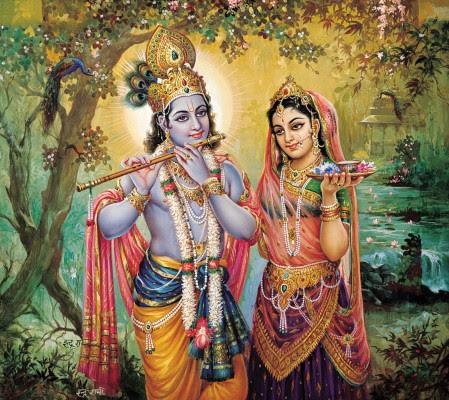 Radha Krishna The Divine