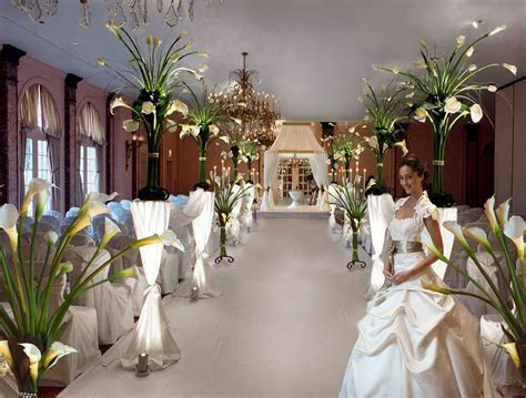 Calla lily arrangement wedding ceremony decor   Wedding