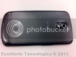 Samsung Galaxy Nexus GT-I9250 (8) - Vista trasera y camara