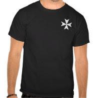 Knights Hospitaller Small Cross Shirt