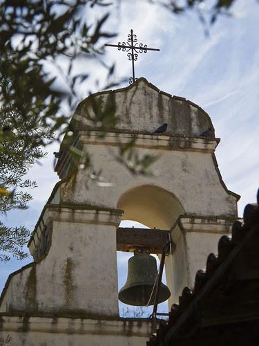 Mission San Juan Bautista bell tower