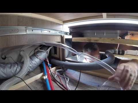 Hooking Nature s Head composting toilet to RV Grey Tank, Video paling dicari!