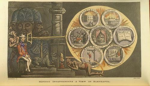 Hindoo Incantantations a View in Elephanta p99