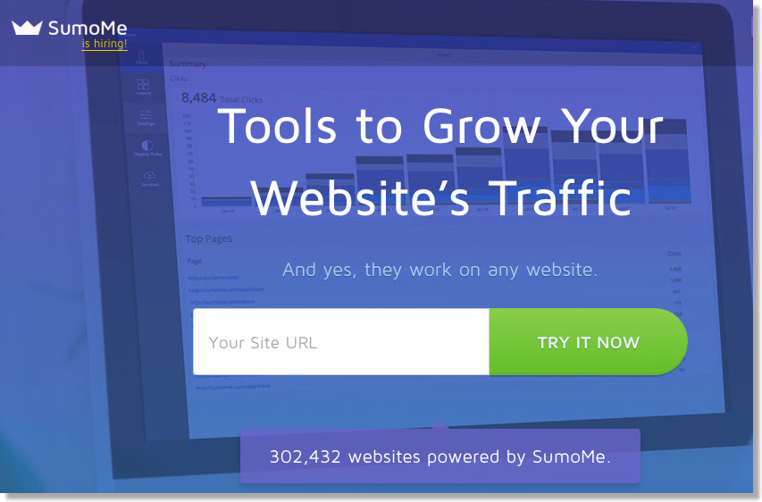 sumome homepage