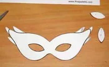 Criando uma linda máscara de Carnaval