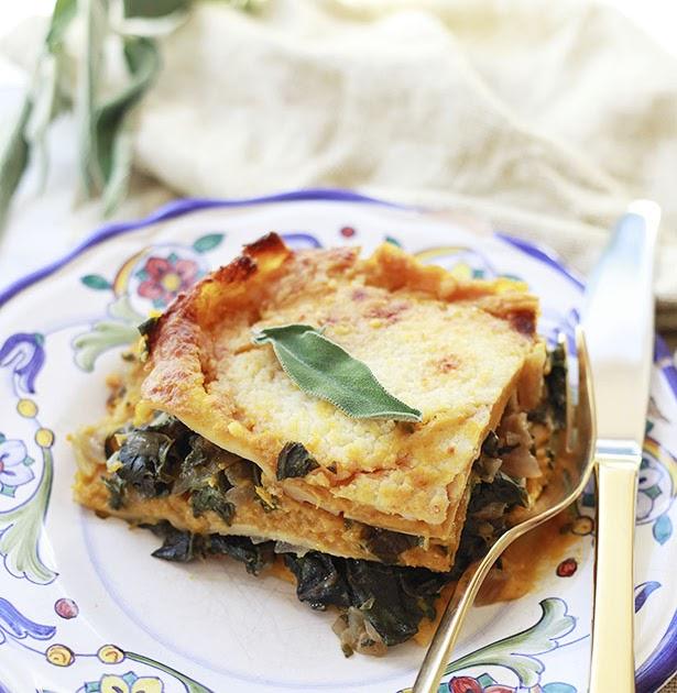 The Yummy Mummy Kitchen Cookbook: Pumpkin And Chard Lasagna Recipe