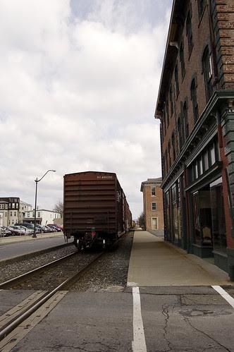 Freight Train on Market Street II