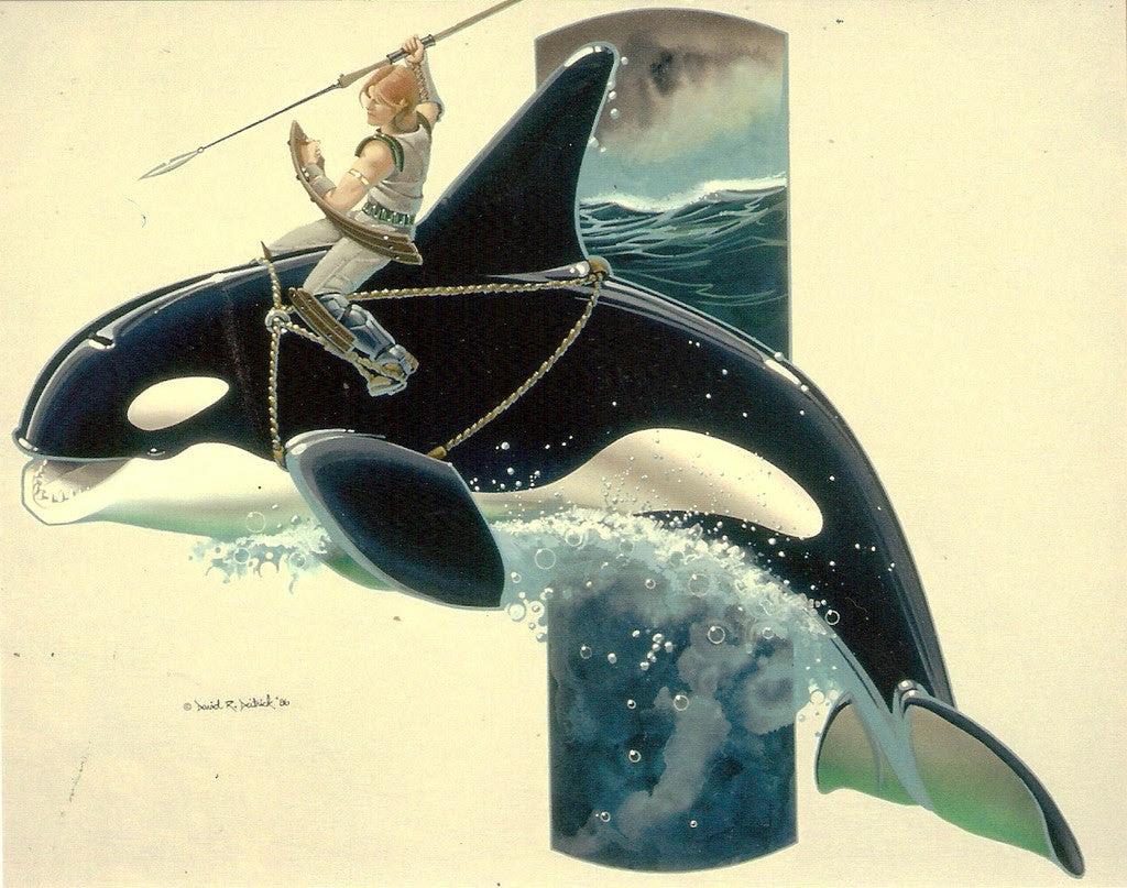 David Deitrick 'Orcavalry' Print