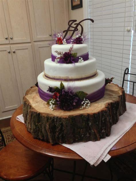 Rustic plum wedding cake   Wedding   Plum wedding, Wedding