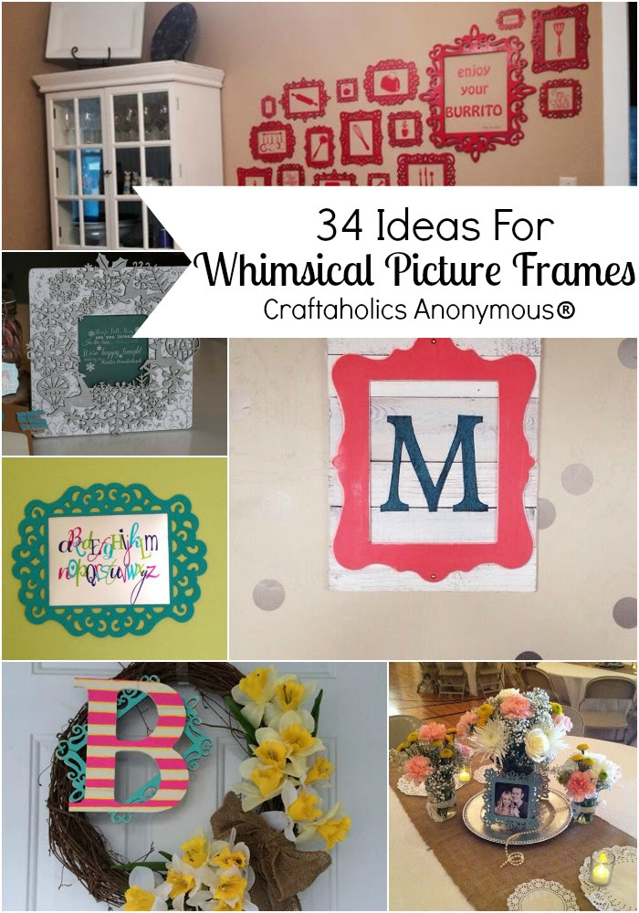 Craftaholics Anonymous Ideas For Unfinished Decorative Wood Frames