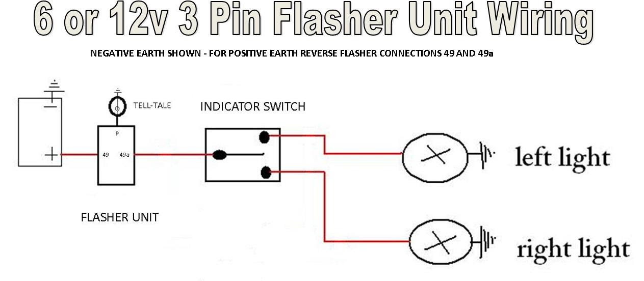 12v Flasher Relay Wiring Diagram