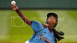 Mo'Ne Davis Makes History in Her First Game of the Little League World Series