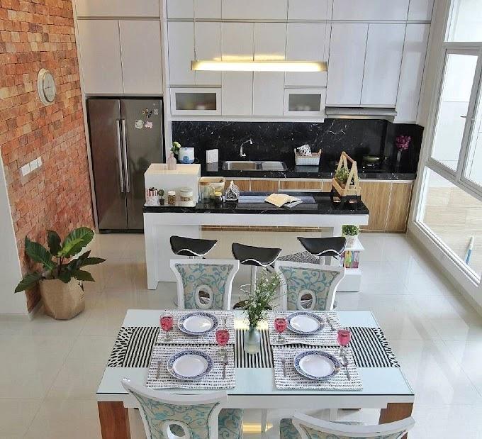 Desain Ruang Tamu Dapur Minimalis