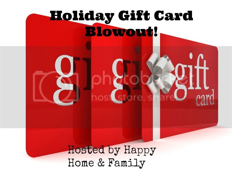 Holiday Gift Card Blowout. Event runs 10/20-11/20