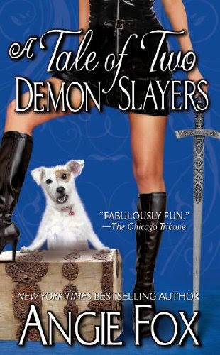 A Tale of Two Demon Slayers (A Biker Witches Novel) by Angie Fox