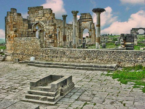 2266 VOLUBILIS Ruines du Capitole