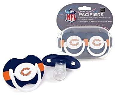 Chicago Bears Pacifier 2-Pack