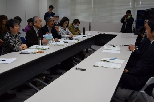 Nationwide liaison council opposing Henoko soil hauling calls for measures against invasive species