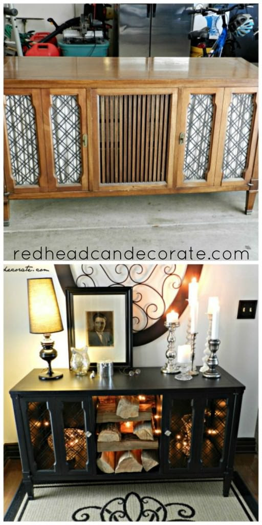 From My Front Porch To Yours-How I Found My Style Sundays- Redhead Can Decorate Before Project
