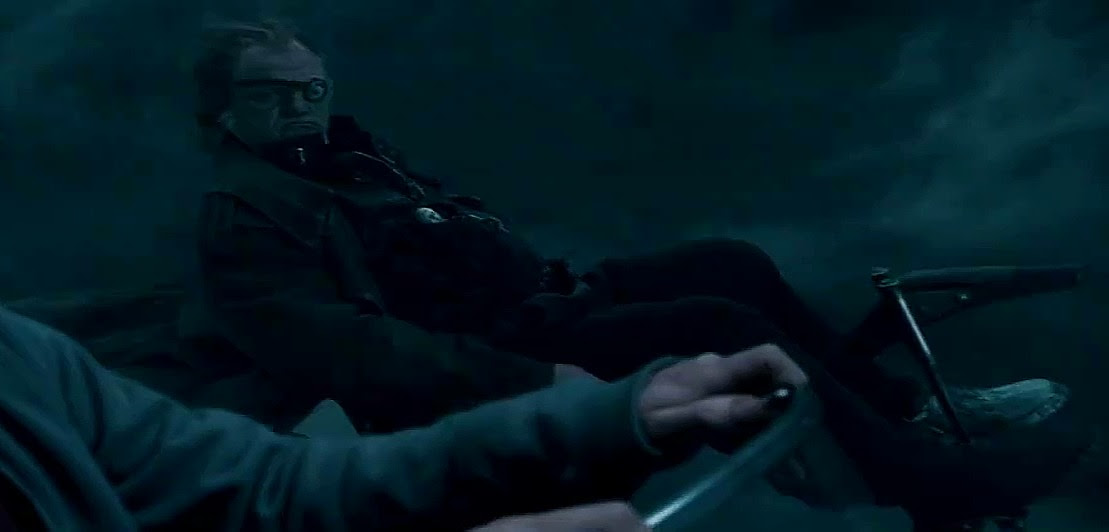 Image result for mad eye moody death gif