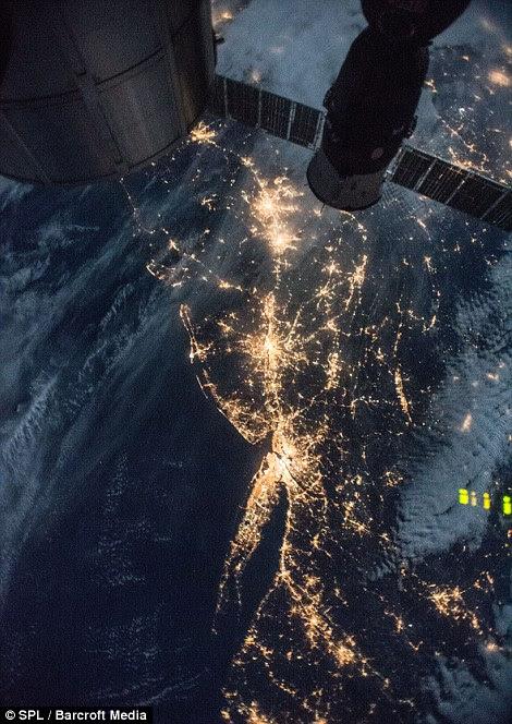 New York at night taken in December