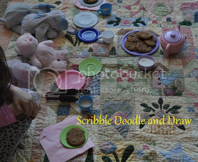 Learn through play while playing tea party with kids