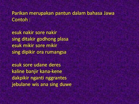 contoh puisi bahasa jawa informasi terbaru