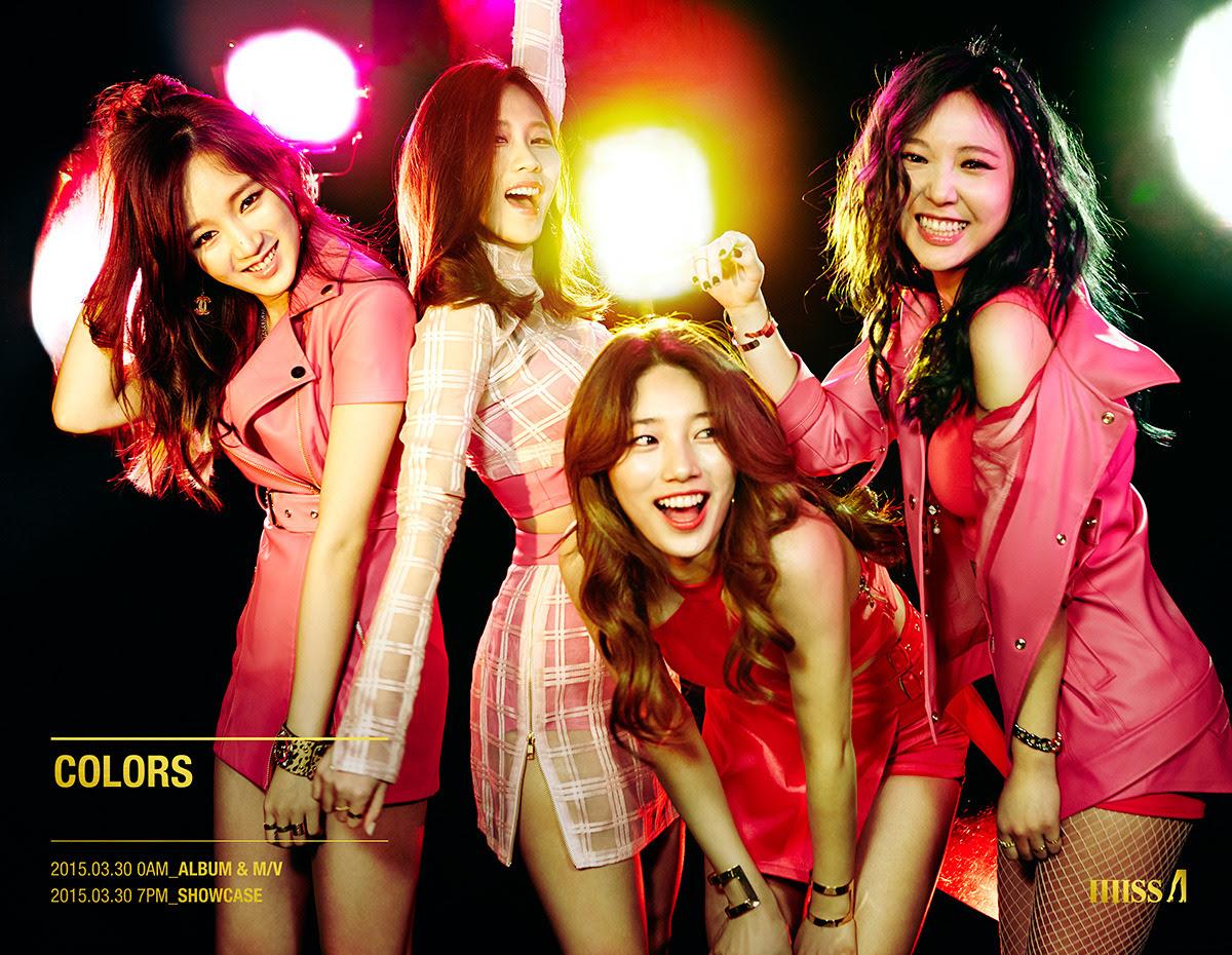 Miss A - Colors
