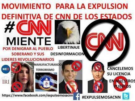 ORGANIZACIÓN llama a la EXPULSION INTERNACIONAL de CNN | La R-Evolución de ARMAK | Scoop.it